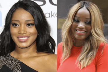 keke palmer then and now black blond hair