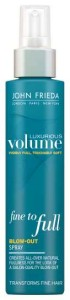 John Frieda NEW Luxurious Volume Fine to Full Blow-Out Spray