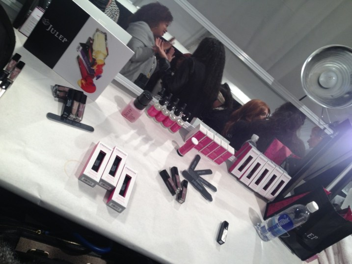 Backstage beauty with Julep for Trina Turk New York Fashion Week Fall 2013
