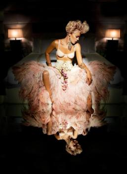 P!nk's Sexy, Marilyn Monroe Inspired Coif