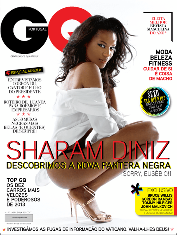 Sharam Diniz for GQ Portugal April 2013