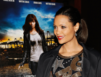 Thandie Newton attends DirectTV Rogue Series New York Premiere at Tribeca Grand Screening Room on March 21 2013 in New York City Source- Cindy Ord:Getty Images North America featured