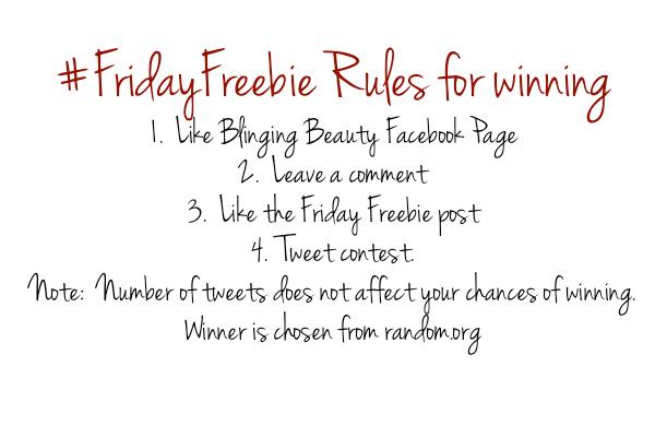 friday freebie rules