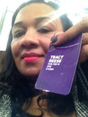Tracey at Tracy Reese Fall Fashion Week 2012 New York