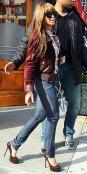 Beyonce in skinny jeans