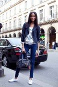 Jourdan Dunn Paris- jeans