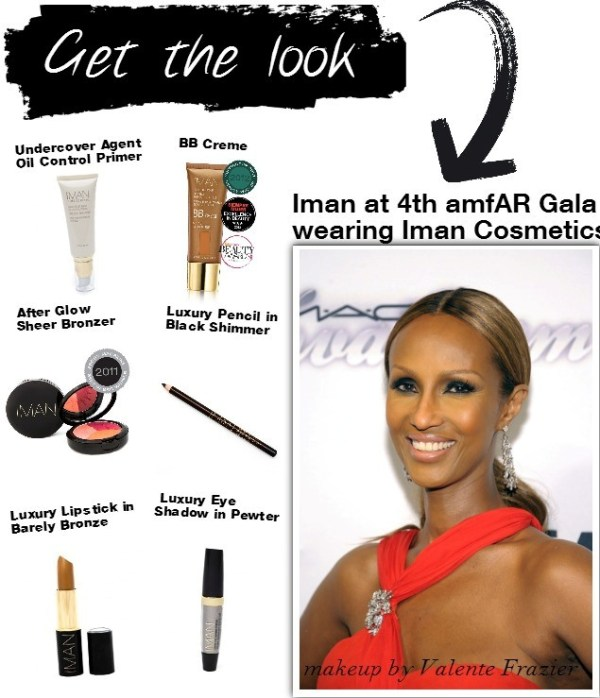 Beautysets_Iman at amfar get the look