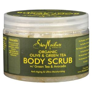 Shea Moisture Body Scrub, Olive & Green Tea