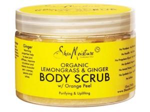 Shea Moisture Organic Lemongrass & Ginger Body Scrub
