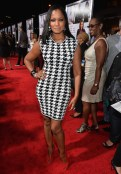 Garcelle Beauvais attends the premiere of Fox Searchlight Pictures' 'Baggage Claim'