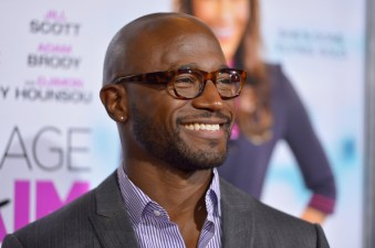 Taye Diggs attends the premiere of Fox Searchlight Pictures' 'Baggage Claim'
