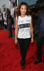 Zena Foster attends the premiere of Fox Searchlight Pictures' 'Baggage Claim'