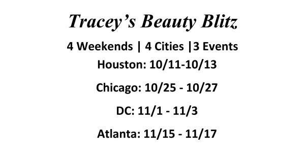 beauty blitz dates for blog