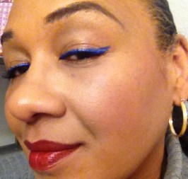 tracey lancome 24 h bold artliner sapphire and rouge in love cocoa couture review swatch