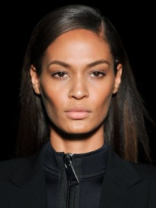 Joan Smalls Diesel ffw 2013 bold brow trend