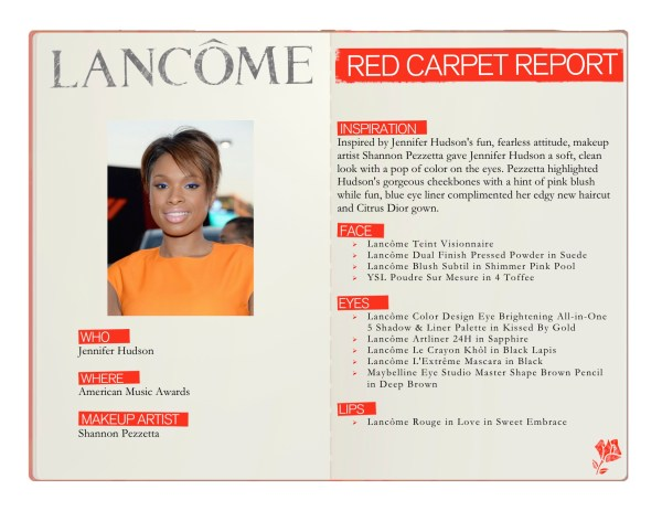 Red Carpet Report Lancome Jennifer Hudson