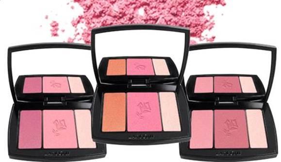 lancome blush trios