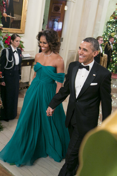 Michelle and Barak  Obama 36th Keneday Awards getty images