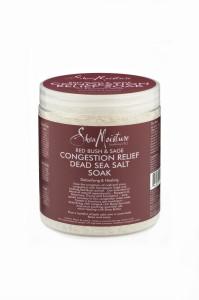 Shea Moisture Red Bush & Sage Congestion Relief Soak