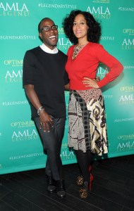 Johnny Wright, SoftSheen-Carson Artistic Style Director & Tracee Ellis Ross at Optimum Amla Launch Event Dream Downtown February 4, 2014