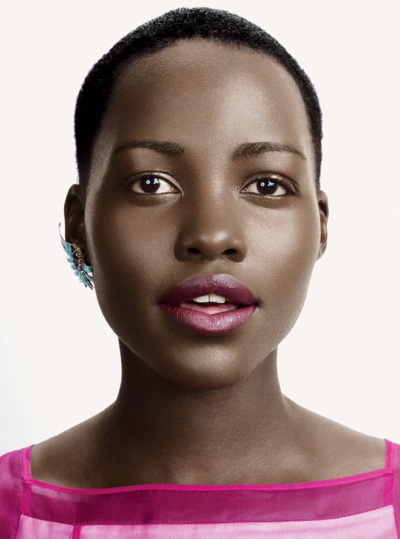 Lupita Nyong'o Glamour March 2014 2
