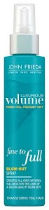 John Frieda Luxurious Volume Fine to Full spray.