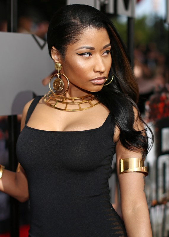 Nicki Minaj MTV Movie Awards Makeup (April 13, 2014 - Source: Axelle/Bauer-Griffin)