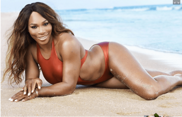 serena williams fitness magazine