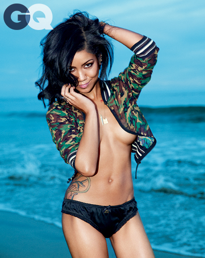 Jhene Aiko GQ photoshoot May 2014 4