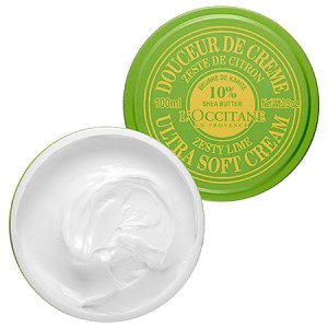L'OCCITANE Shea Butter Ultra Soft Cream Zesty Lime