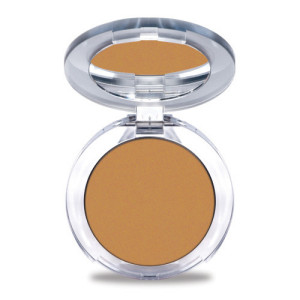 4-in-1 Pressed Mineral Makeup Foundation with Skincare Ingredients in Tan