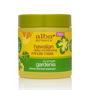 Alba Botanica Hawaiian Deep Conditioning Minute Mask So Smooth Gardenia Pic