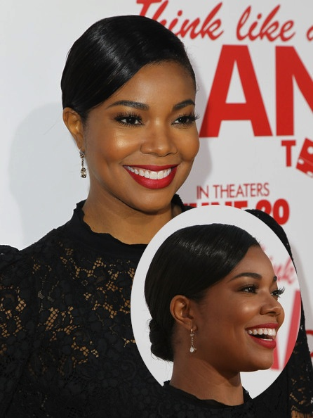 Gabrielle Think LIke A Man Too Premiere Chignon