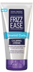 John Frieda  FRIZZ EASE® UNWIND CURLS™  CALMING CRÈME
