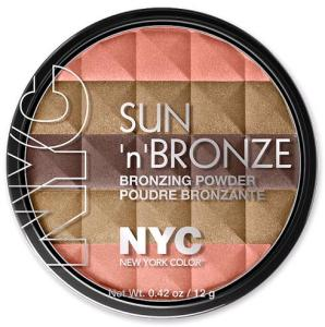 NYC Sun 'n' Bronze Bronzing Powder in Coral Samba