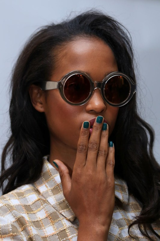 JINsoon at Karen Walker Spring/Summer 2015 Collection