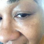 Pacifica Dreamlit Under Eye Brightener -- Before