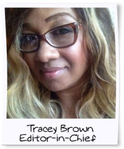 tracey brown blinging beauty editor in chief