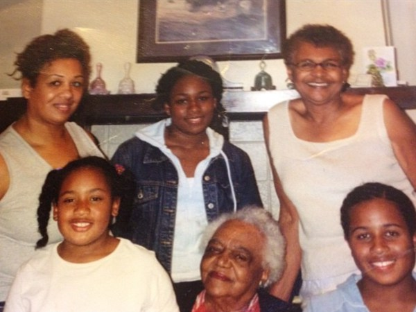 4 generations Tracey Brown