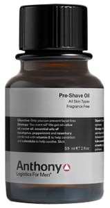 anthony pre shave oil