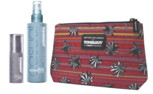 Matthew Williamson for TONI&GUY Hair Meet Wardrobe beauty bag