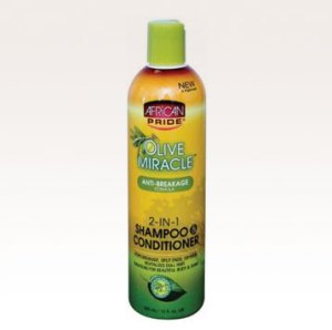 OLIVE MIRACLE  OLIVE MIRACLE 2-IN-1 SHAMPOO AND CONDITIONER