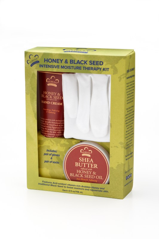 Nubian Heritage Honey & Black Seed Intensive Moisture Therapy Kit