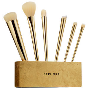 SEPHORA COLLECTION 24 Karat Gold Mine Brush Set