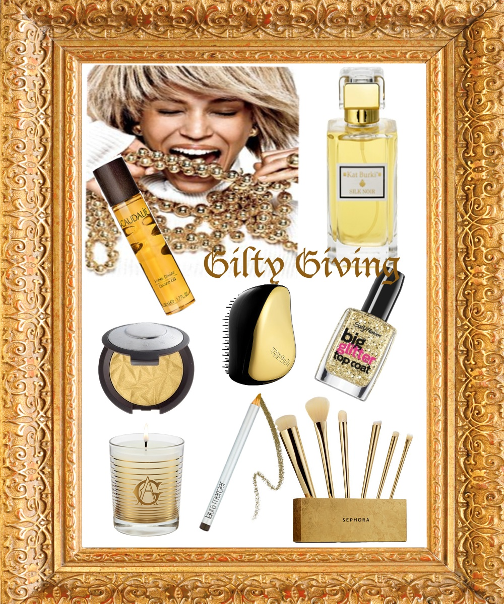 gilty giving gift guide blinging beauty