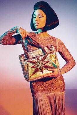 Nicki MInaj Roberto Cavalli Spring 2015 ad campaign
