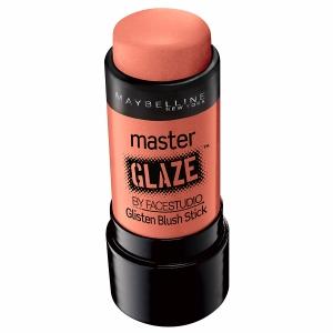 Maybelline Master Glaze by FaceStudio Glisten Blush Stick in Coral Sheen