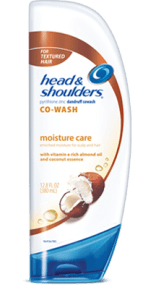 head and shoulder co wash