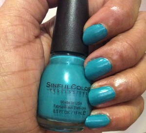 Sinful Colors rise and shine swatch