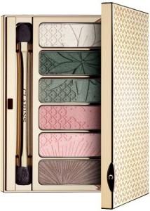 Clarins Spring 2015 limited edition garden escape eyeshadow wet dry palette